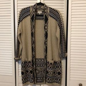Lucky Brand sweater/coat M